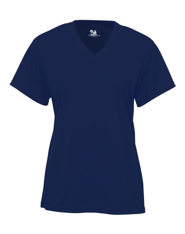 Youth B-Core V-Neck T-Shirt-Badger-Pacific Brandwear