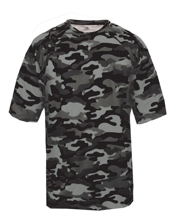 Youth Camo T-Shirt-Badger-Pacific Brandwear