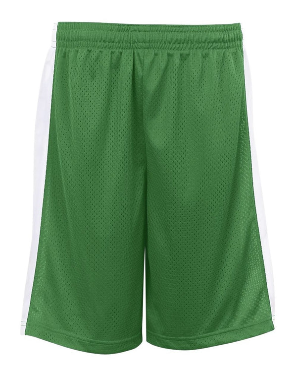 Youth Pro Mesh Challenger Shorts-Badger-Pacific Brandwear