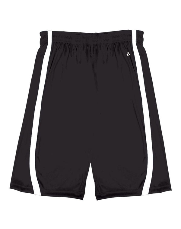 Youth B-Core B-Slam Reversible Shorts-Badger-Pacific Brandwear