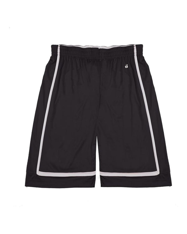 Youth B-Core B-Line Reversible Shorts-Badger-Pacific Brandwear