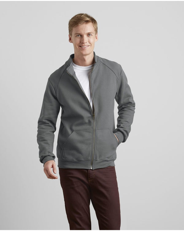Premium Ring Spun Full-Zip Jacket-Gildan-Pacific Brandwear