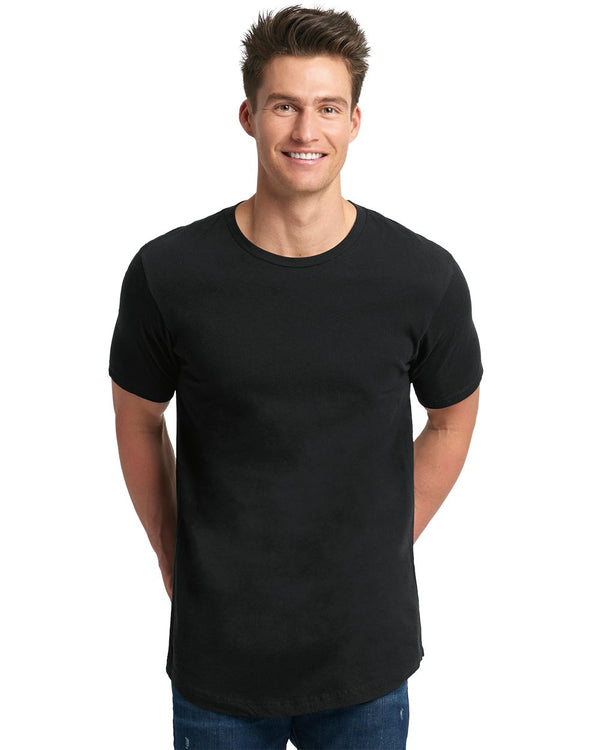Cotton Long Body Short sleeve Crew-Next Level-Pacific Brandwear
