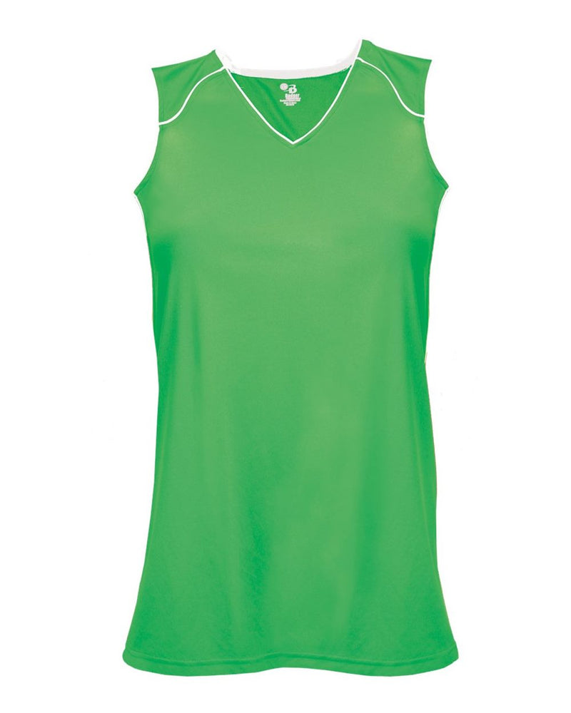 Women's B-Core Adrenaline Jersey-Badger-Pacific Brandwear
