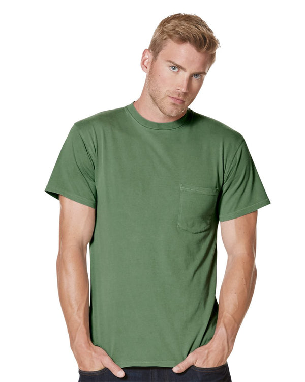 Inspired Dye Short sleeve Pocket Crew-Next Level-Pacific Brandwear