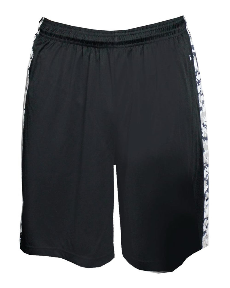 Digital Camo B-Attack Shorts-Badger-Pacific Brandwear