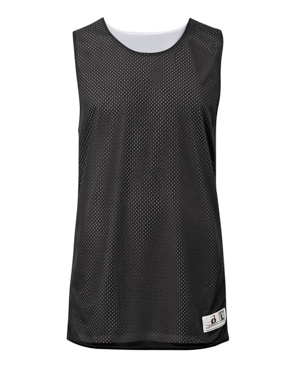 Youth Pro Mesh Challenger Reversible Tank Top-Badger-Pacific Brandwear