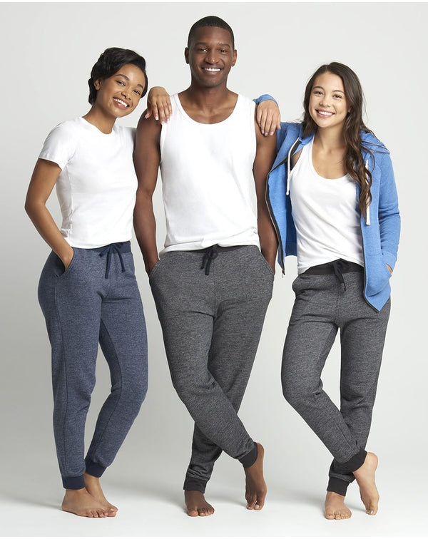 Denim Fleece Joggers-Next Level-Pacific Brandwear