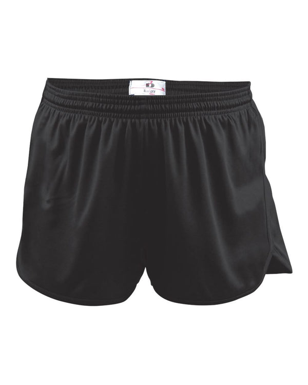Women's B-Core Track Shorts-Badger-Pacific Brandwear