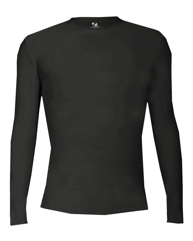 Youth Pro-Compression Long sleeve T-Shirt-Badger-Pacific Brandwear