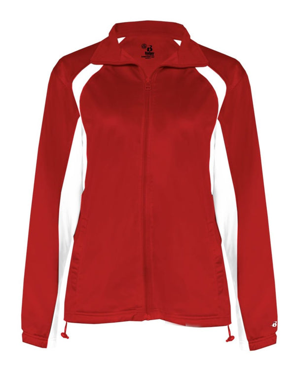Women's Hook Brushed Tricot Jacket-Badger-Pacific Brandwear