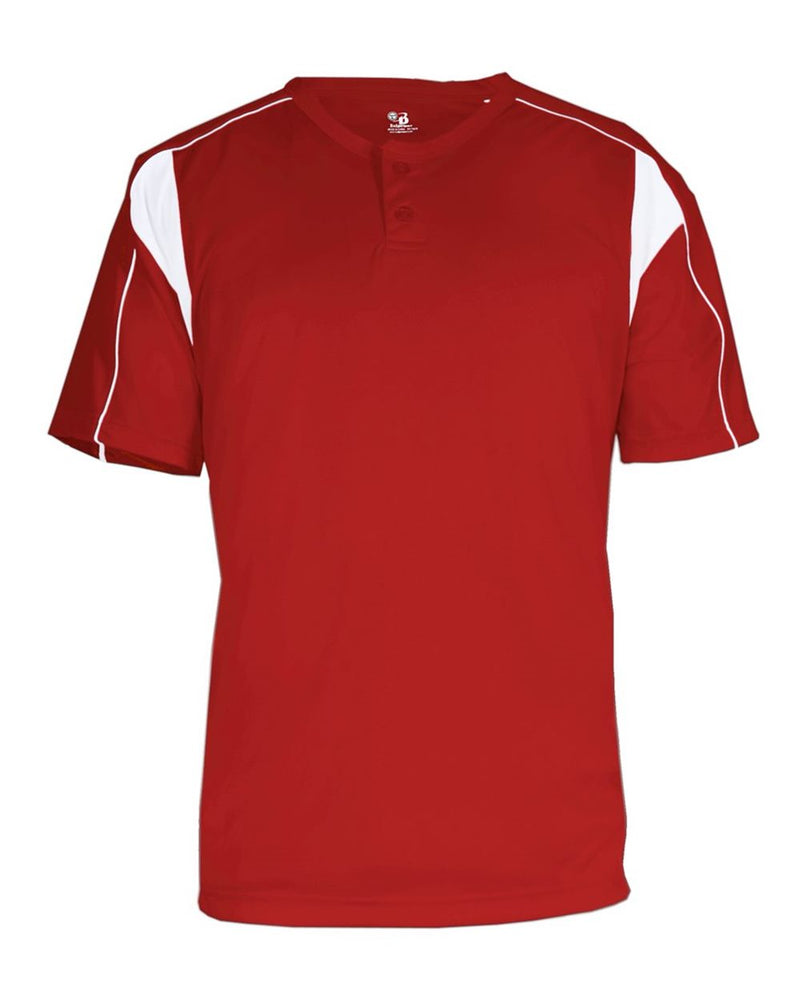 B-Core Pro Placket Jersey-Badger-Pacific Brandwear