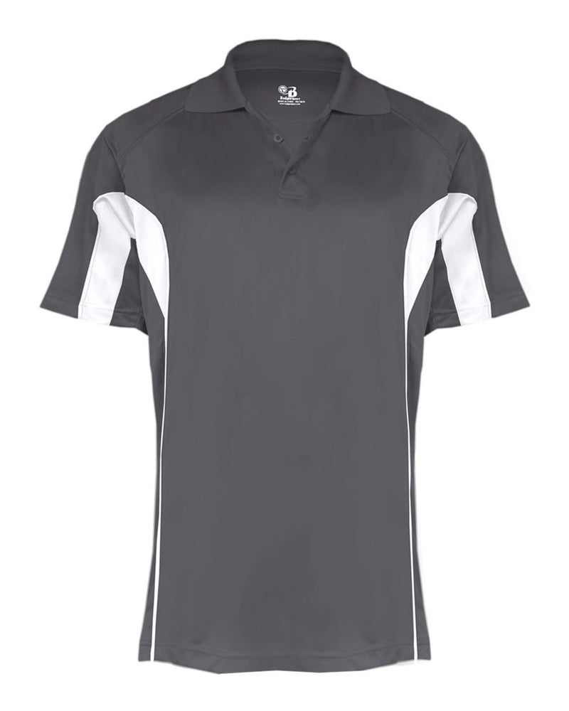 B-Core Drive Sport Shirt-Badger-Pacific Brandwear