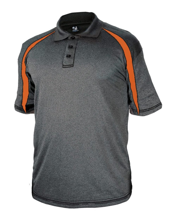 Pro Heather Fusion Performance Sport Shirt-Badger-Pacific Brandwear