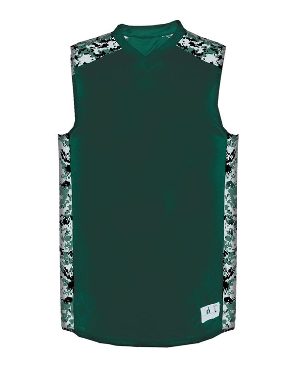 Digital Camo B-Attack Tank Top-Badger-Pacific Brandwear