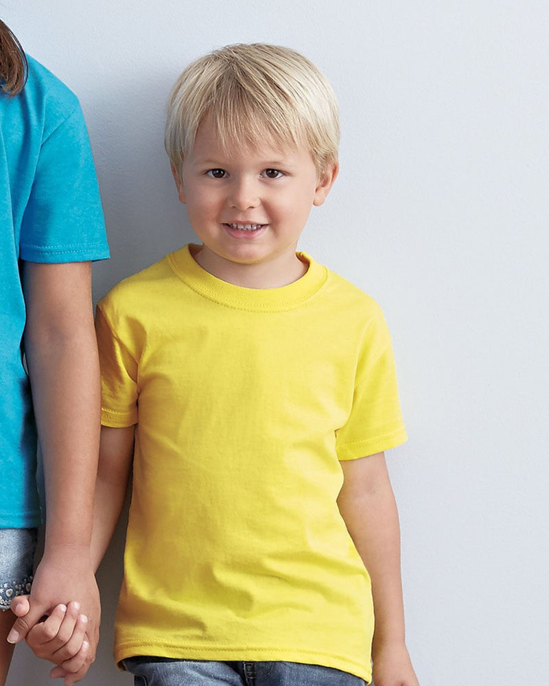 Toddler HD Cotton T-Shirt-Fruit of the Loom-Pacific Brandwear