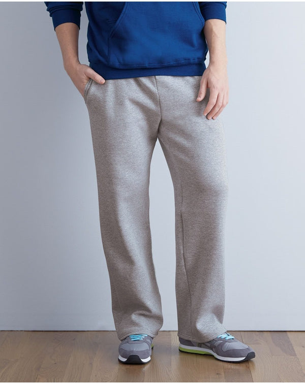 Sofspun Pocketed Open Bottom Sweatpants-Fruit of the Loom-Pacific Brandwear