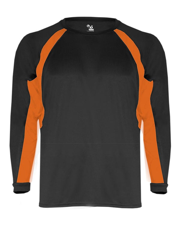 B-Core Hook Long sleeve T-Shirt-Badger-Pacific Brandwear