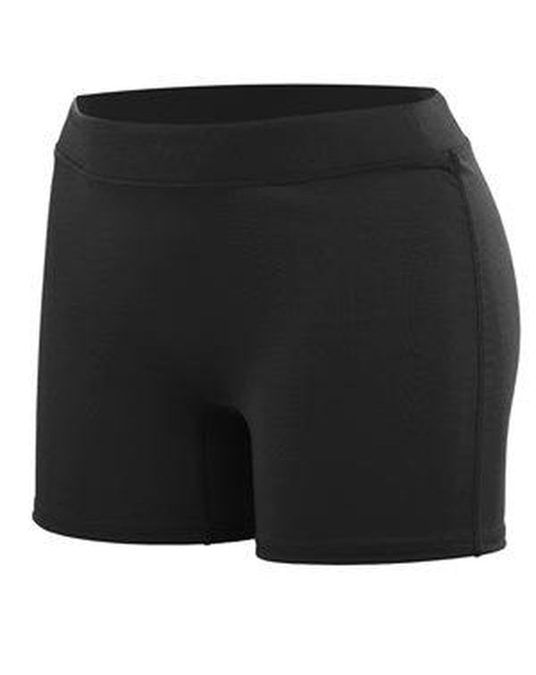 Women's Enthuse Shorts-Augusta Sportswear-Pacific Brandwear