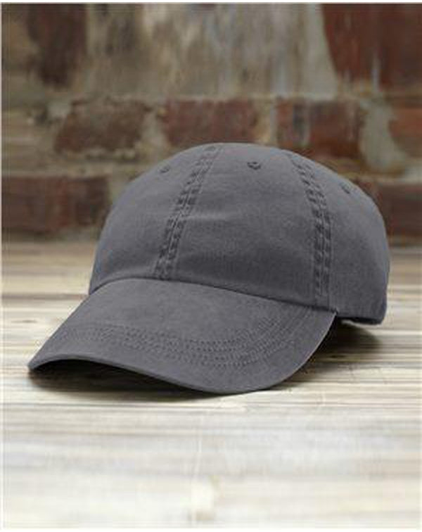 Solid Pigment-Dyed Cap-Anvil-Pacific Brandwear
