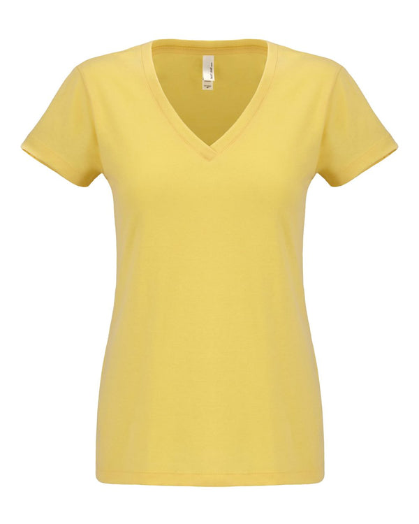 Women's Sueded Short sleeve V-Next Level-Pacific Brandwear