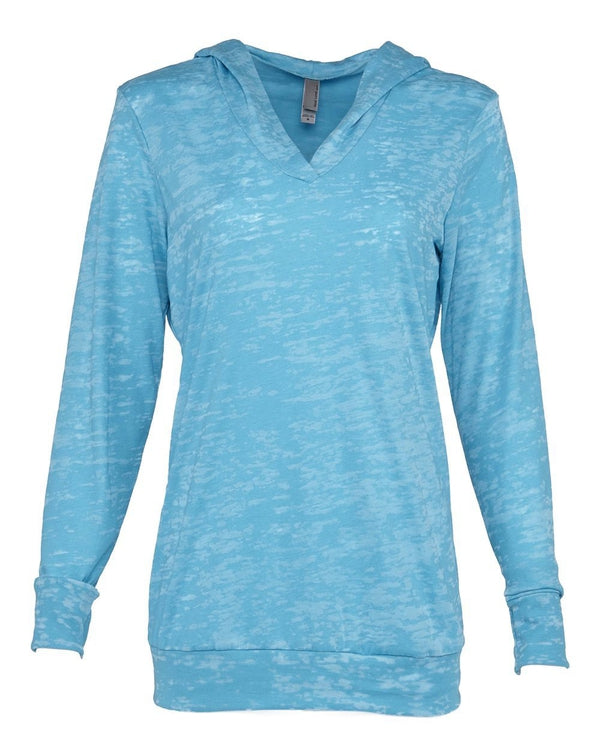 Women's Burnout Hooded Pullover-Next Level-Pacific Brandwear
