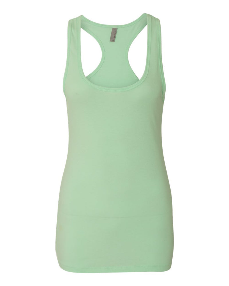 Women's Spandex Jersey Racerback Tank-Next Level-Pacific Brandwear