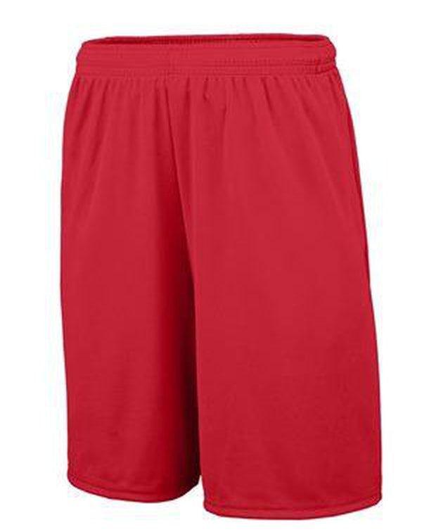 Youth Training Shorts with Pocket-Augusta Sportswear-Pacific Brandwear