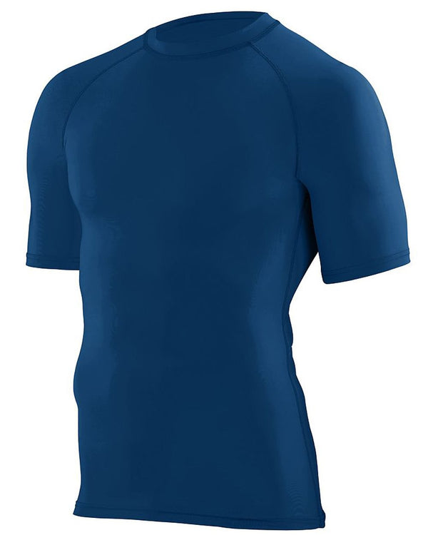 Youth Hyperform Compression Short sleeve Shirt-Augusta Sportswear-Pacific Brandwear