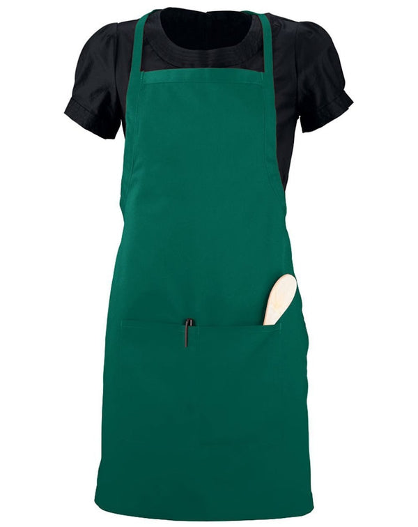 Waiter Apron with Pockets-Augusta Sportswear-Pacific Brandwear