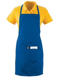 Oversized Waiter Apron with Pockets-Augusta Sportswear-Pacific Brandwear