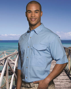 Fishermen Short sleeve Shirt-Hilton-Pacific Brandwear