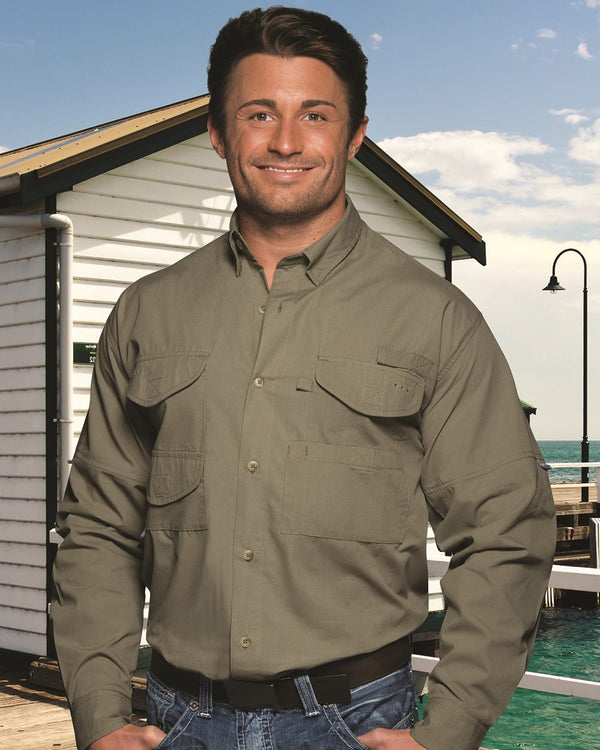 Fishermen Long sleeve Shirt-Hilton-Pacific Brandwear
