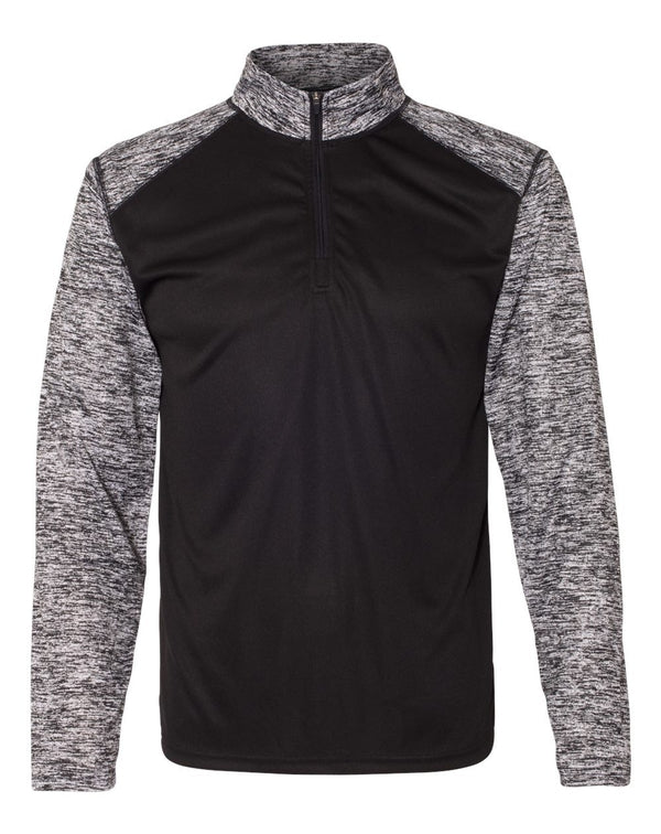 Blend Sport Quarter-Zip Pullover-Badger-Pacific Brandwear
