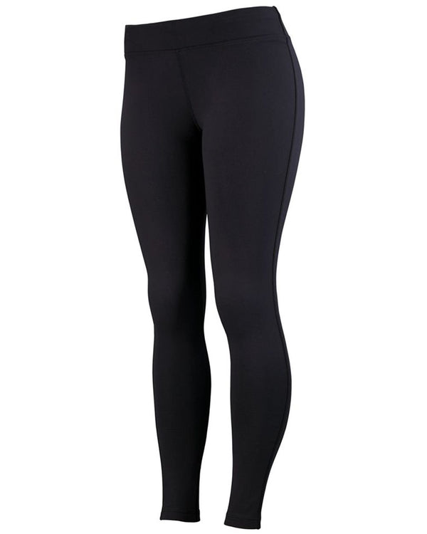 Girls' Brushed Back Leggings-Augusta Sportswear-Pacific Brandwear