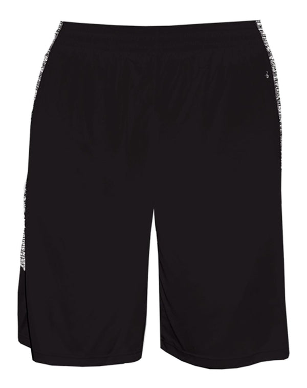 Youth Blend Panel Shorts-Badger-Pacific Brandwear