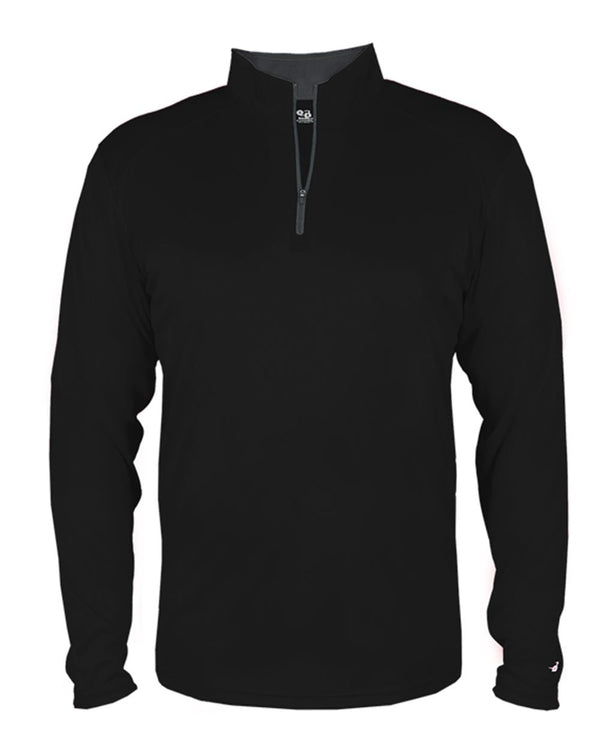 Youth B-Core Quarter-Zip Pullover-Badger-Pacific Brandwear