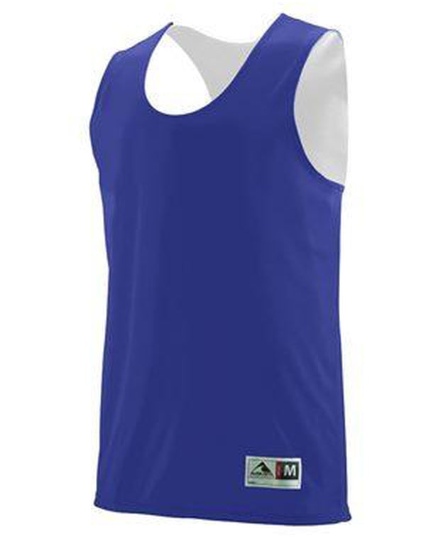Youth Reversible Wicking Tank-Augusta Sportswear-Pacific Brandwear