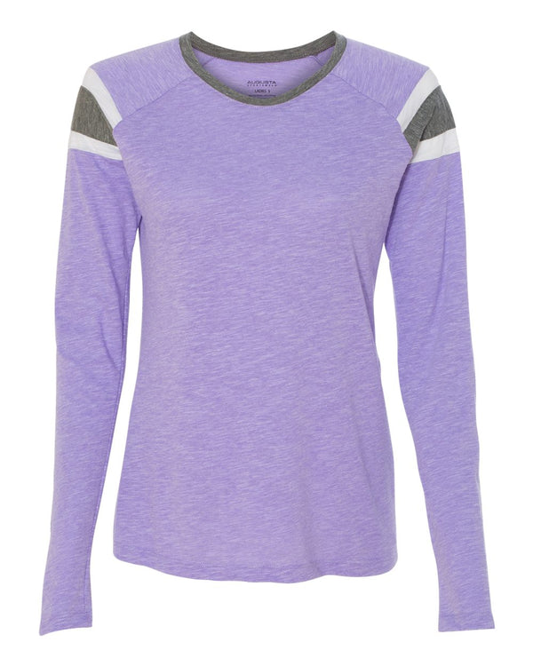 Women's Long sleeve Fanatic T-Shirt-Augusta Sportswear-Pacific Brandwear