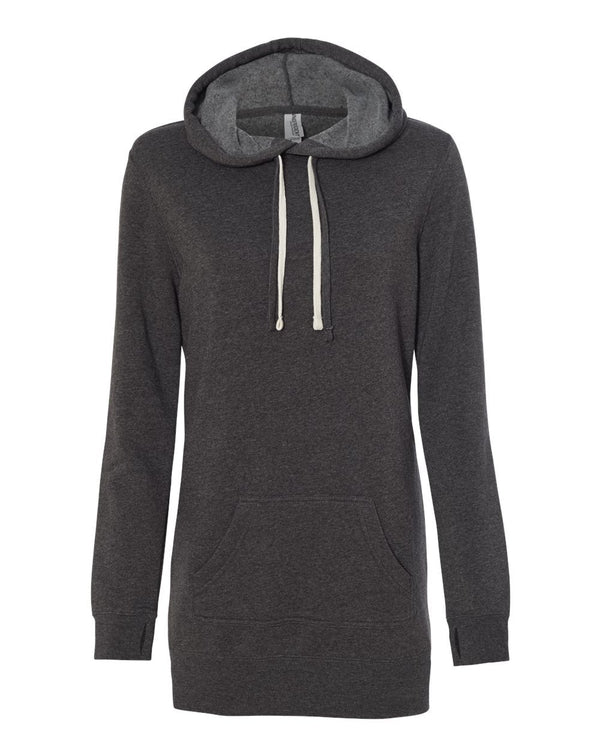 Women's Special Blend Hooded Sweatshirt Dress-Independent Trading Co.-Pacific Brandwear