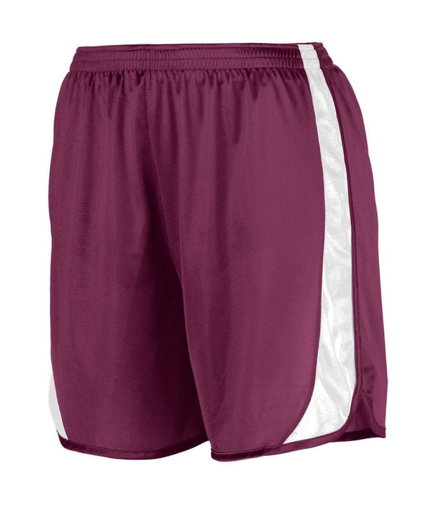 Wicking Track Shorts with Side Insert-Augusta Sportswear-Pacific Brandwear