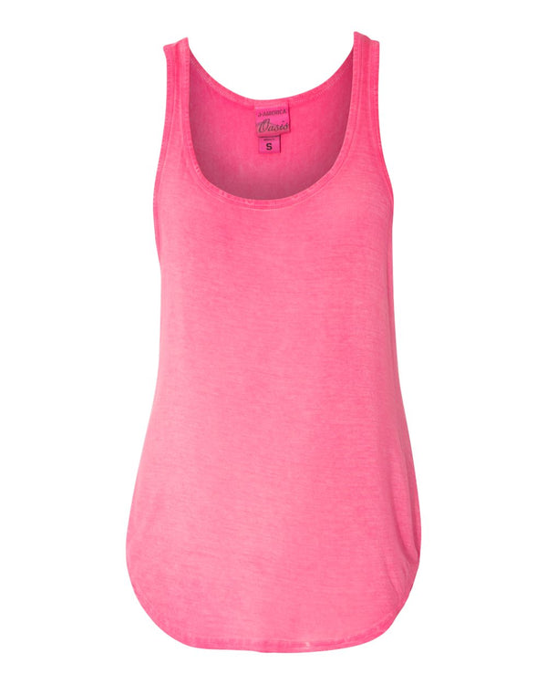 Women's Oasis Wash Tank Top-J. America-Pacific Brandwear
