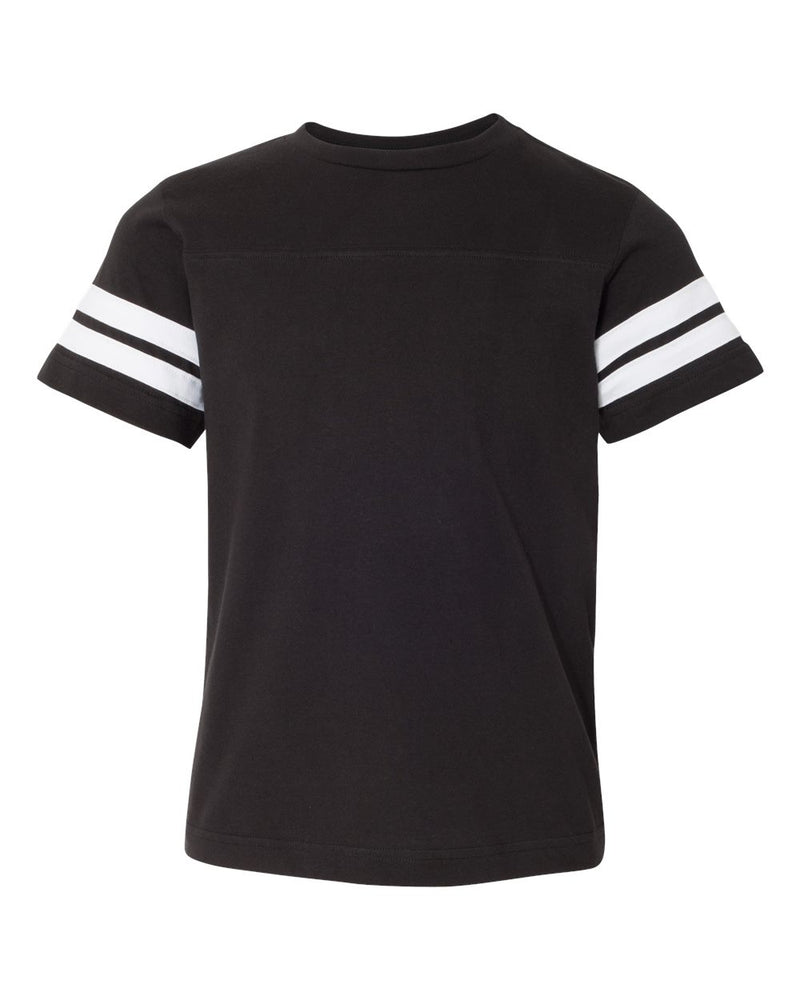 Youth Football Fine Jersey Tee-LAT-Pacific Brandwear