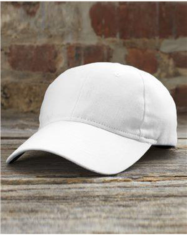 Solid Brushed Twill Cap-Anvil-Pacific Brandwear