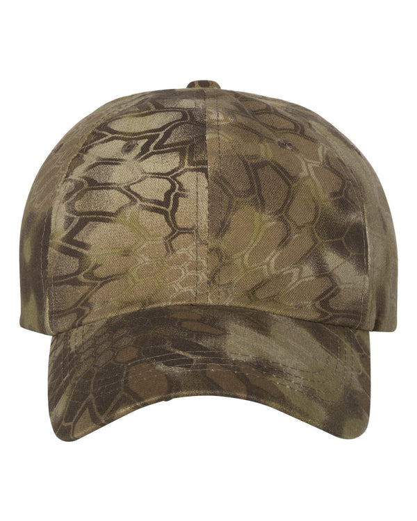 Garment-Washed Camo Cap-Outdoor Cap-Pacific Brandwear