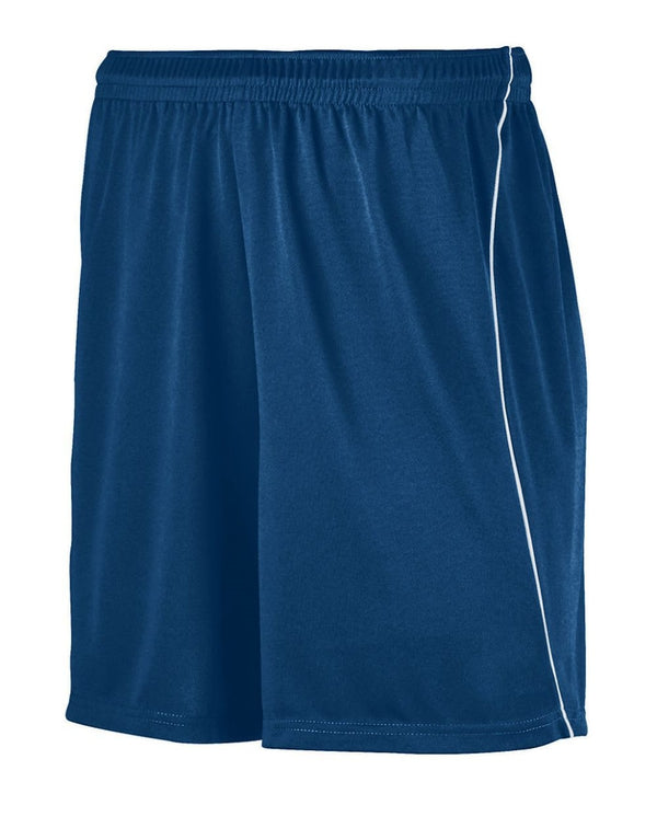 Youth Wicking Soccer Shorts with Piping-Augusta Sportswear-Pacific Brandwear