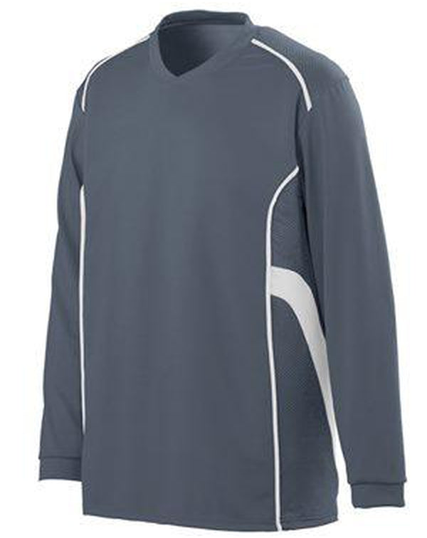 Youth Winning Streak Long Sleeve Jersey-Augusta Sportswear-Pacific Brandwear