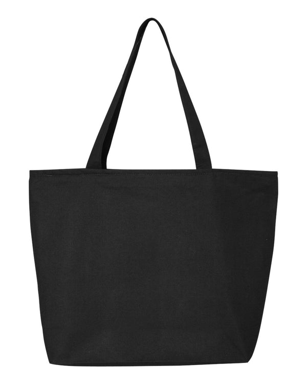 25L Zippered Tote-Q-Tees-Pacific Brandwear