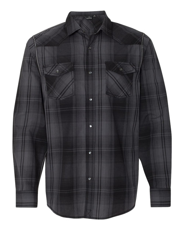 Long sleeve Western Shirt-Burnside-Pacific Brandwear