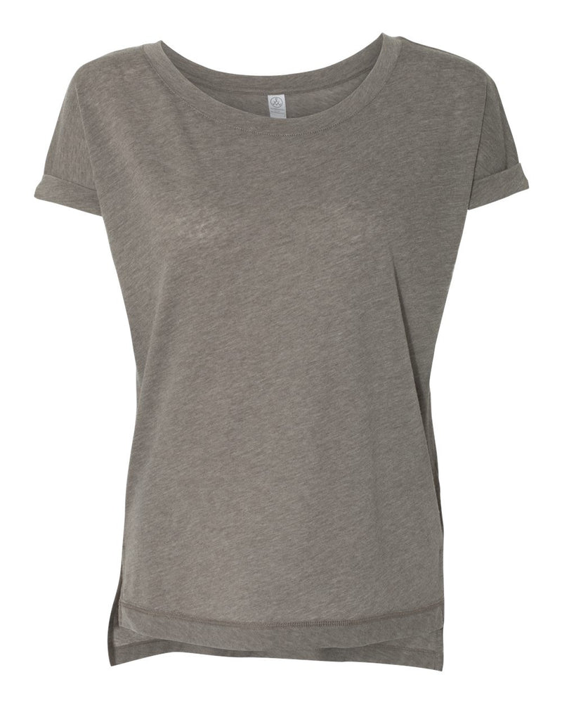 Women's Eco-Gauze Drift Short sleeve Tee-Alternative Apparel-Pacific Brandwear